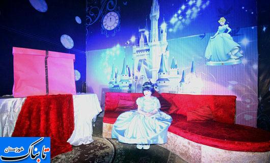 شبی که دختر کوچولوی اهوازی پرنسس شد
