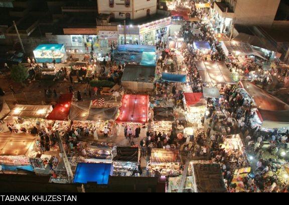 حال و هوای عید فطر در اهواز/ گزارش تصویری